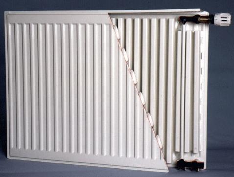 Пластинчатый радиатор