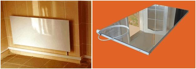 Инфракрасный обогреватель в ванную комнату