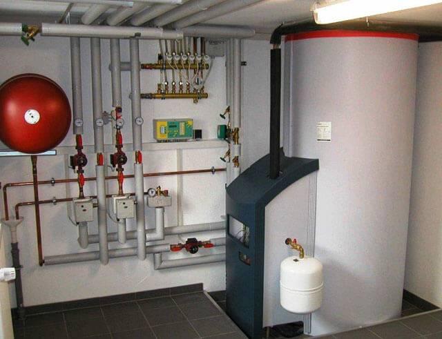 Напольные газовые котлы для отопления
