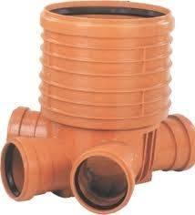 Перепадный колодец для канализации