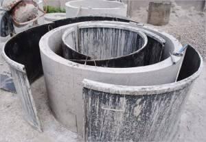 Высота бетонного кольца для колодца