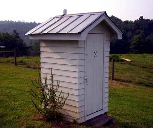Сделать деревянный туалет своими руками