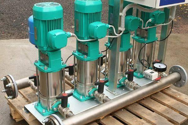 Насосы повышающие давление воды