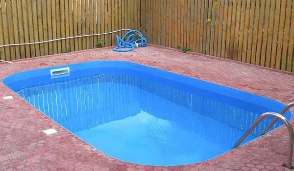 Полипропиленовая чаша для бассейна