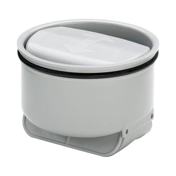 Сухой гидрозатвор для бани