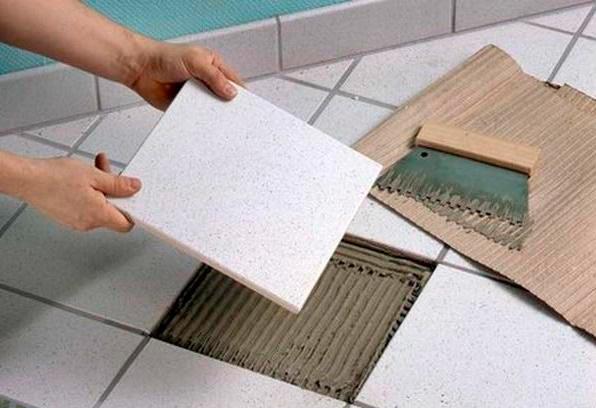 Клей для плитки теплый пол