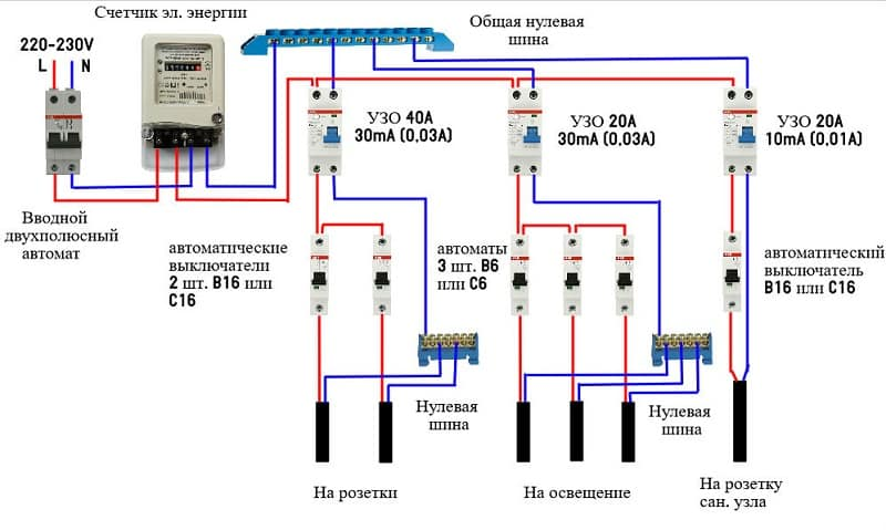 Двухполюсный дифференциальный автомат