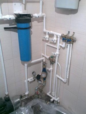 Проводка воды в частный дом