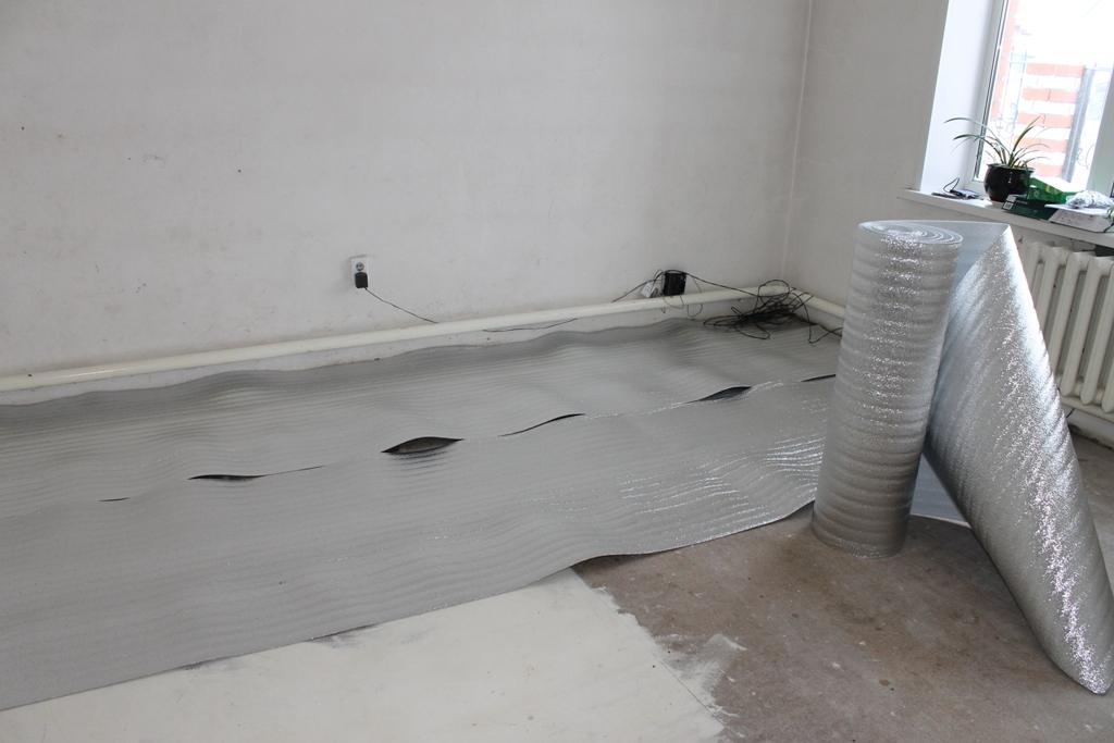 Подложка под теплый пол электрический