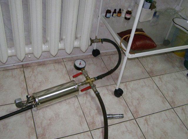 Опрессовка системы отопления что это