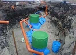 Расположение выгребной ямы на участке снип