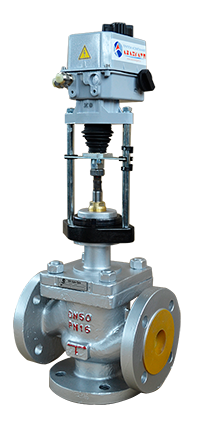 Трехходовой клапан с электроприводом