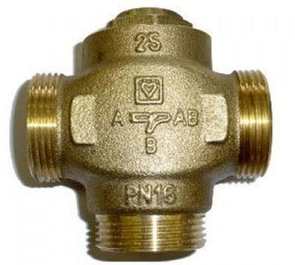 Принцип работы трехходового клапана в системе отопления