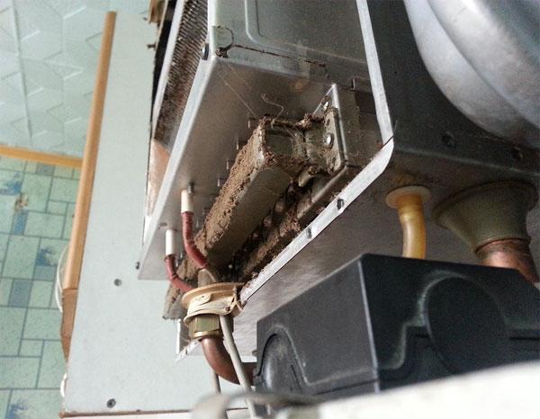 Промыть теплообменник газового котла своими руками
