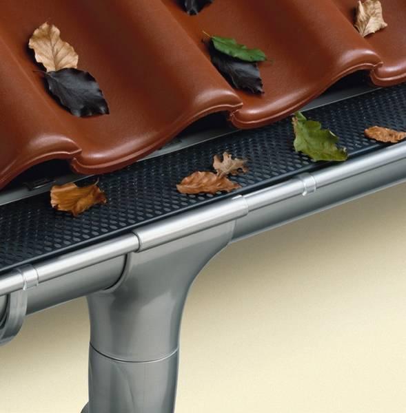 Сливы для крыши своими руками