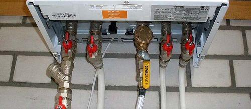 Расстояние от газовой трубы до дымохода