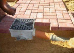 Схема ливневой канализации загородного дома